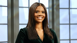 """Author & host Candace Owens is seen on the set of """"Candace"""" on March 24, 2021 in Nashville, Tennessee. The episode will air on Friday, March 26, 2021. (Photo by Jason Kempin/Getty Images)"""