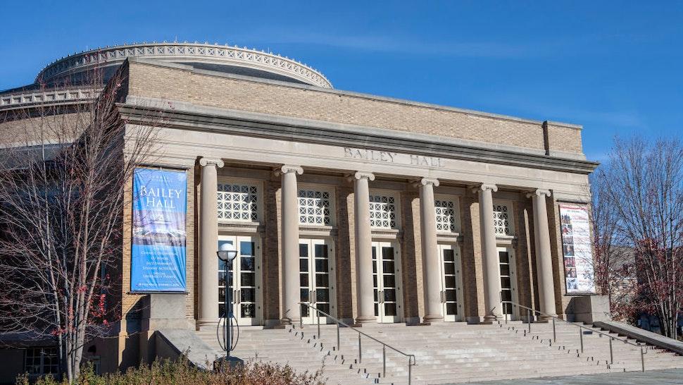 Bailey Hall, Cornell University, Ithaca, New York, USA.