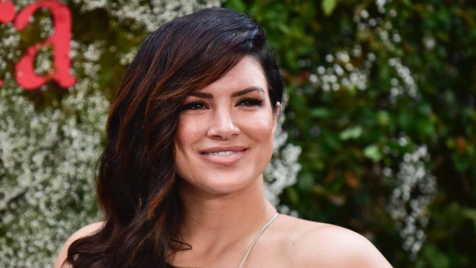 Gina Carano attends the InStyle Max Mara Women in Film Celebration at Chateau Marmont on June 11, 2019 in Los Angeles, California.