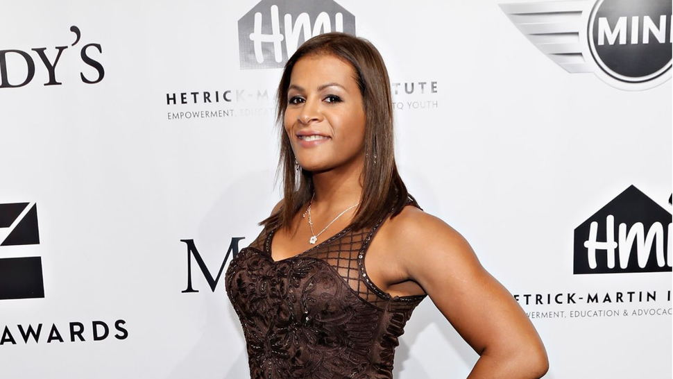 NEW YORK, NY - NOVEMBER 13: Mixed martial artist Fallon Fox attends the 2013 Emery Awards at Cipriani Wall Street on November 13, 2013 in New York City.