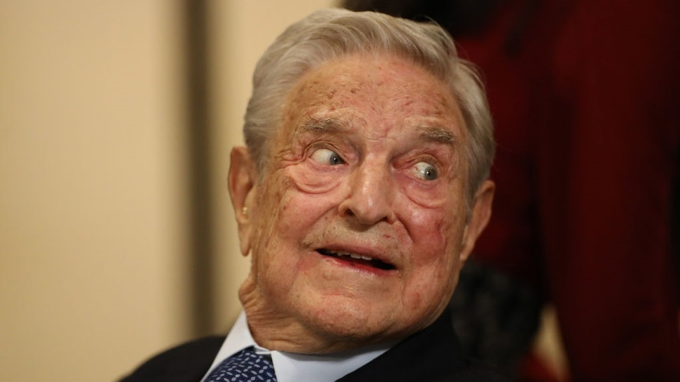 George Soros, billionaire and founder of Soros Fund Management LLC, on day three of the World Economic Forum (WEF) in Davos, Switzerland, on Thursday, Jan. 23, 2020.