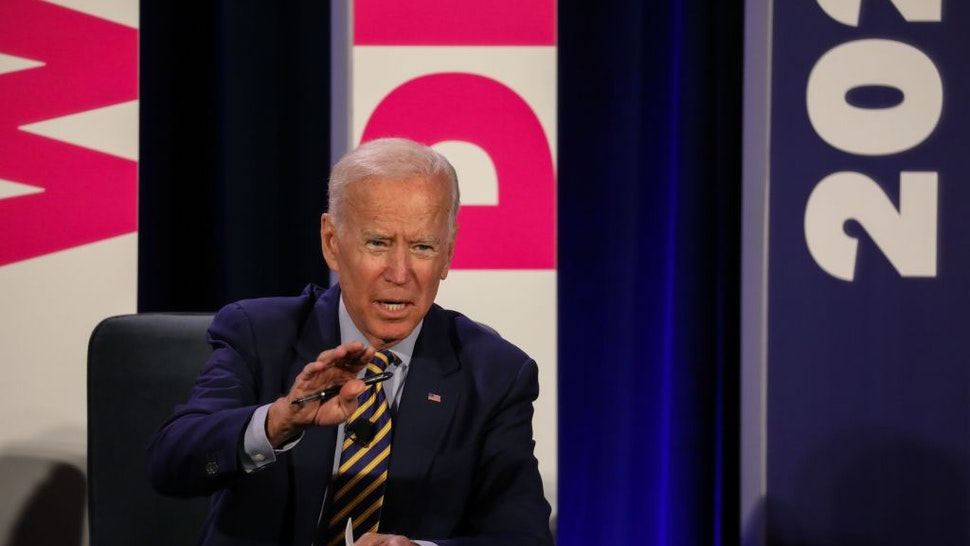 Former Vice President, Joe Biden, adresses the audience at the We Decide: Planned Parenthood Action Fund 2020 Election Forum to Focus on Abortion and Reproductive Rights event in Columbia, SC on June, 22 2019. - Many of the Democratic candidates running for president are in Columbia to make appearances at the South Carolina Democratic Party Convention and the Planned Parenthood Election Forum on June 22.