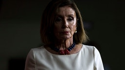WASHINGTON, DC - SEPTEMBER 26: House Speaker Nancy Pelosi (D-CA) speaks during a weekly news conference on Capitol Hill on September 26, 2019 in Washington, DC. Speaker Pelosi discussed an impeachment inquiry into President Donald Trump. (Photo by Zach Gibson/Getty Images)
