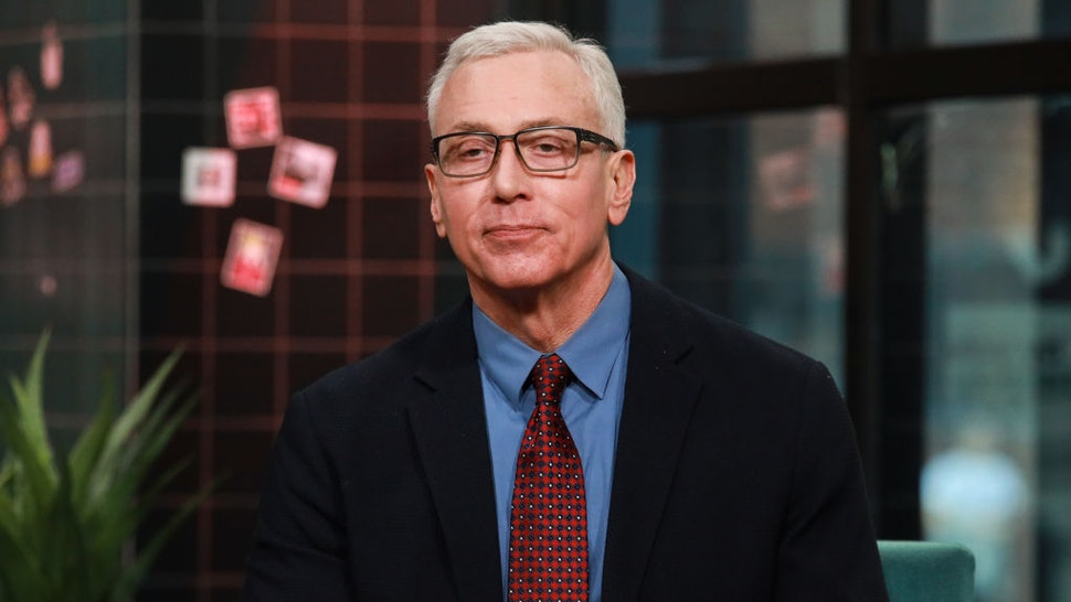 NEW YORK, NY - MARCH 09: Dr. Drew Pinsky visits Build at Build Studio on March 9, 2020 in New York City.