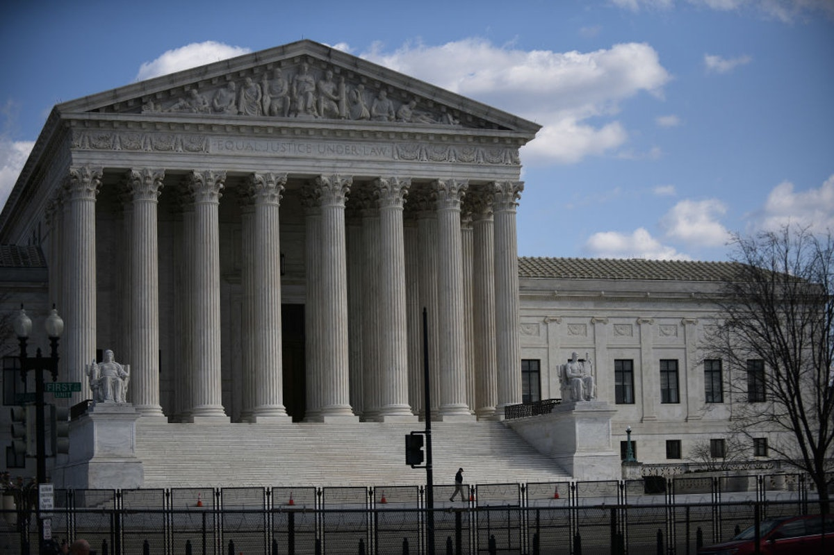 Supreme Court Tosses Case Arguing Trump Blocking People On Twitter Violated First Amendment