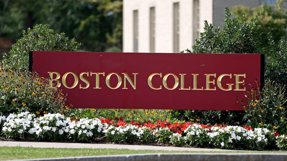 Boston College Campus on September 14, 2020 in Chestnut Hill, Massachusetts.