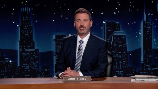 In this screengrab, Jimmy Kimmel speaks during the 2020 Media Access Awards Presented By Easterseals on November 19, 2020 in UNSPECIFIED, United States.
