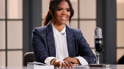 """NASHVILLE, TENNESSEE - MARCH 31: Host Candace Owens is seen on set of """"Candace"""" on March 31, 2021 in Nashville, Tennessee. The show will air on Friday, April 2, 2021. (Photo by Jason Kempin/Getty Images)"""