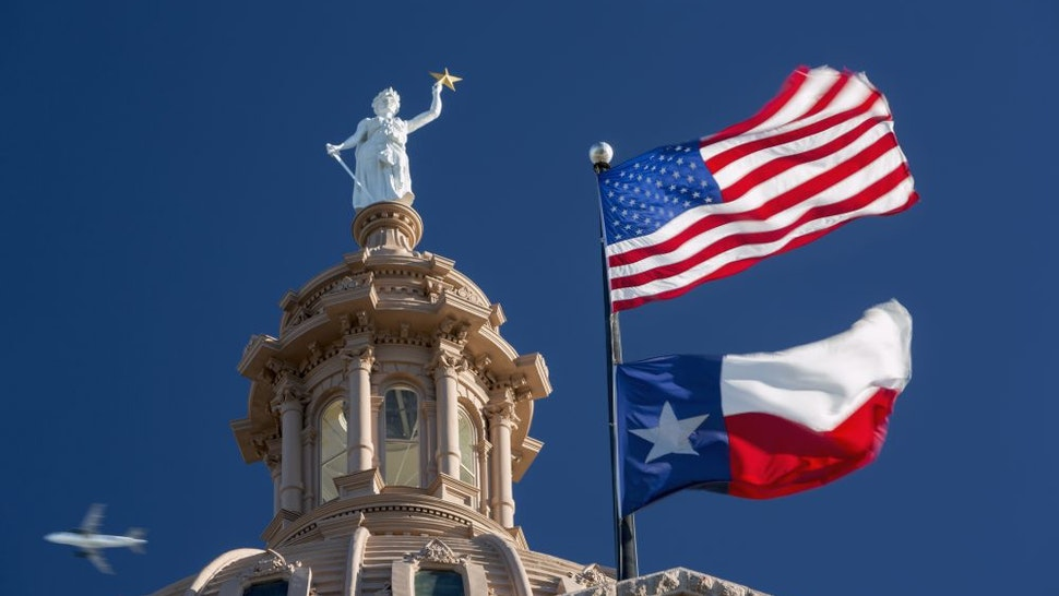 The Texas State Capitol Building in Austin, Texas