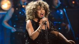 ARNHEM, NETHERLANDS - MARCH 21: Tina Turner performs on stage at the Gelredome on March 21st, 2009 in Arnhem, Netherlands.