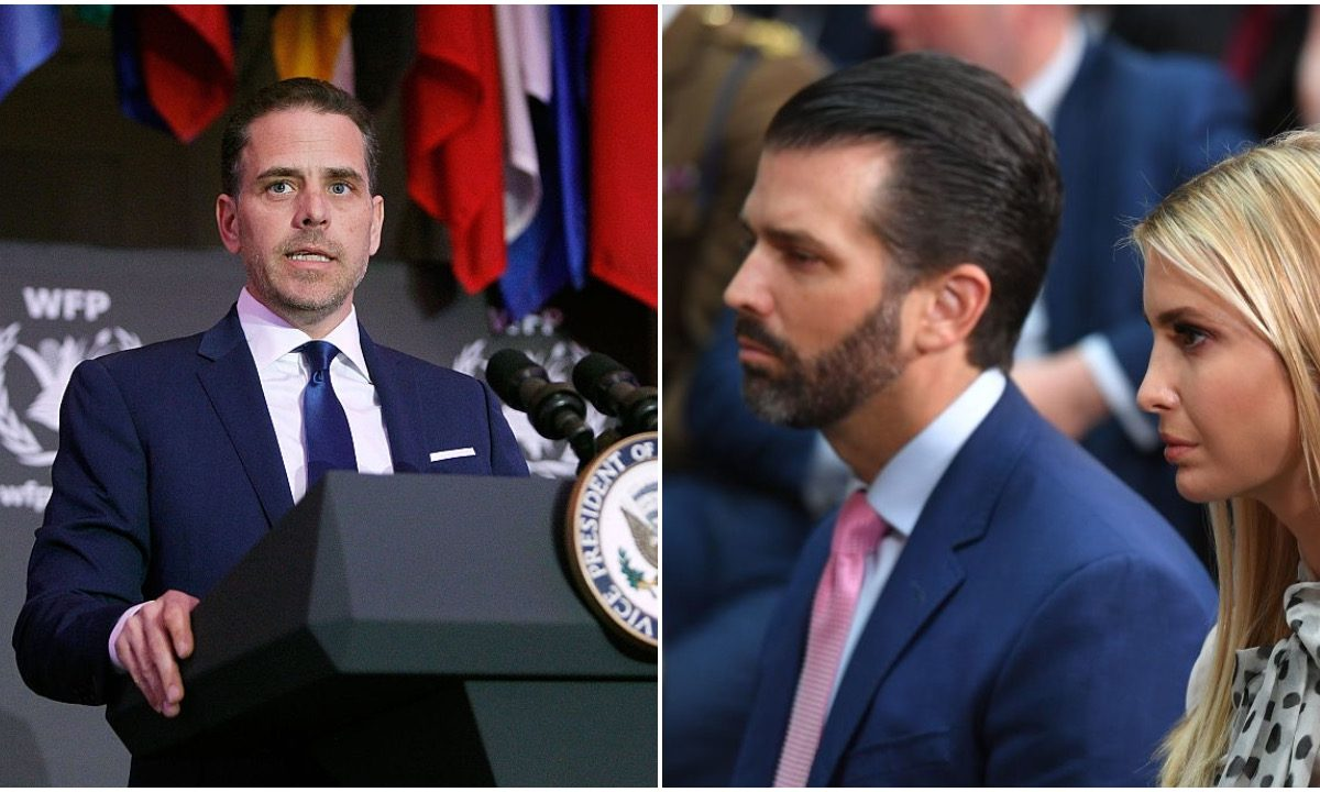 'Ever Tried To Get A Job Outside Of Their Father's Business?' Hunter Biden Targets Trump Children