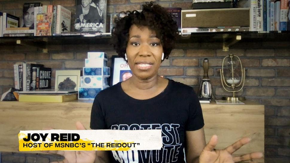 """WILMORE -- """"Disinformation"""" Episode 110 -- Pictured: Joy Reid"""