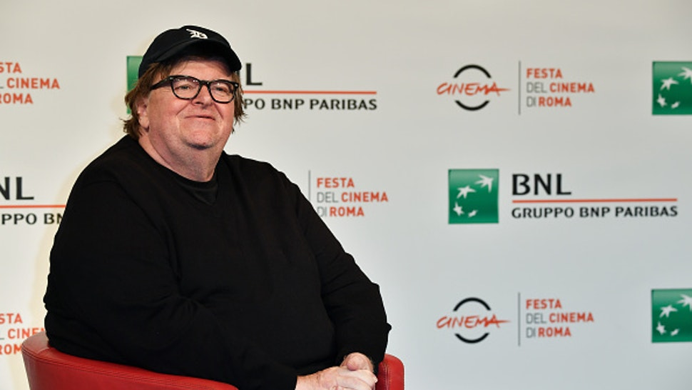 Rome Film Festival 2018, thirteenth edition. Director Michael Moore participates in a photocall during the Rome Film Festival at the Auditorium Parco della Musica. Rome, October 20th, 2018