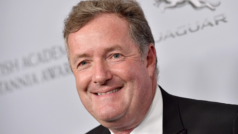 BEVERLY HILLS, CALIFORNIA - OCTOBER 25: Piers Morgan attends the 2019 British Academy Britannia Awards presented by American Airlines and Jaguar Land Rover at The Beverly Hilton Hotel on October 25, 2019 in Beverly Hills, California.