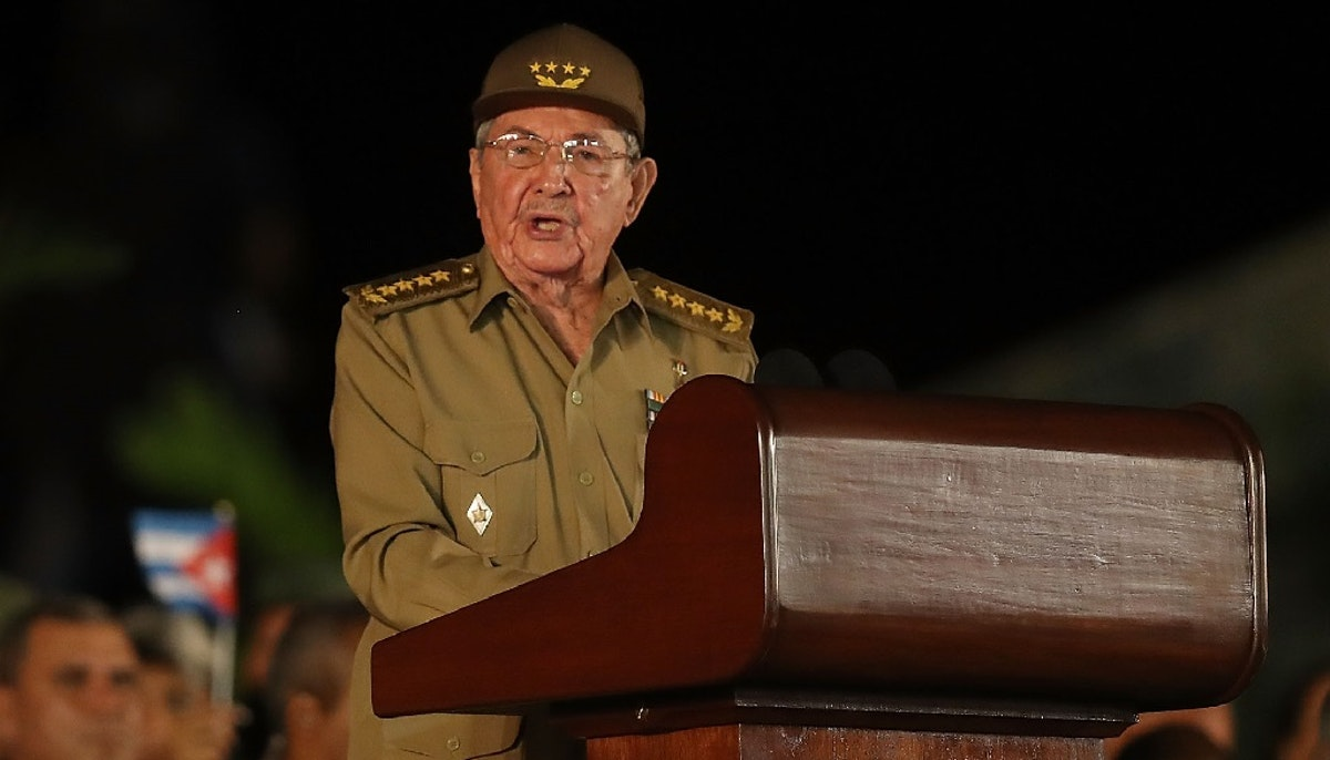 Raúl Castro To Step Down As Leader Of Cuba's Communist Party