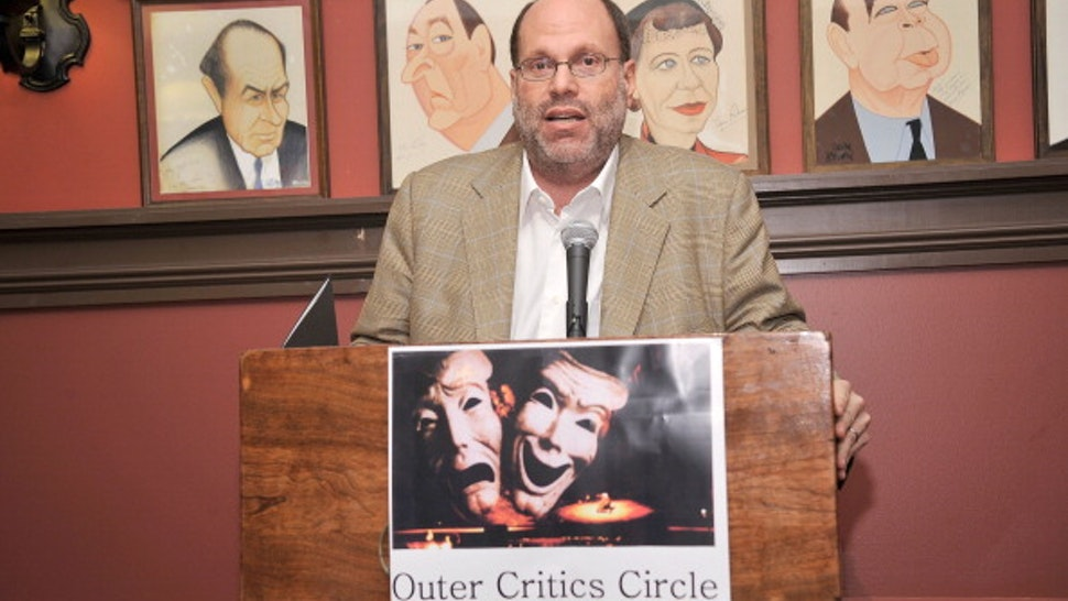 NEW YORK, NY - MAY 24: Producer Scott Rudin attends the 62nd Annual Outer Critics Circle Awards at Sardi's on May 24, 2012 in New York City.