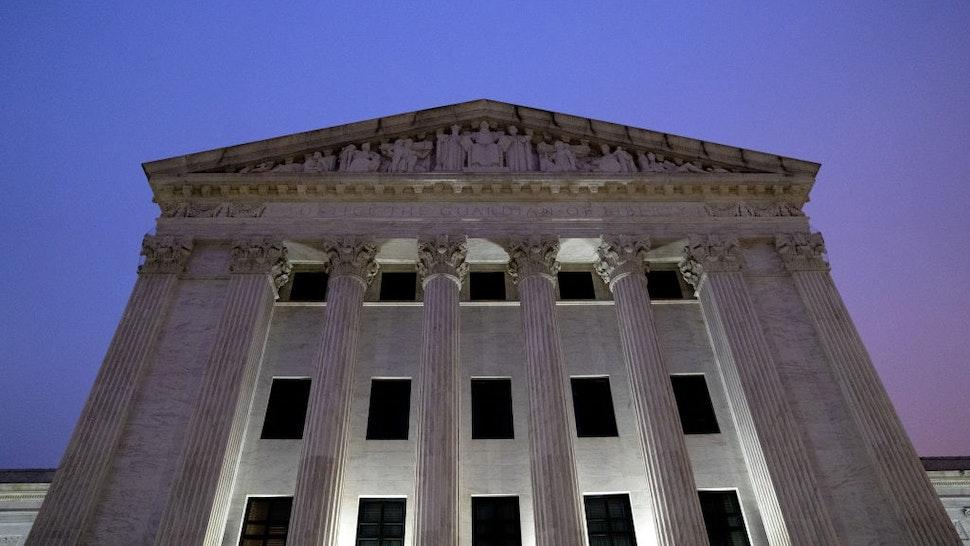The U.S. Supreme Court building in Washington, D.C., U.S., on Friday, April 9, 2021.
