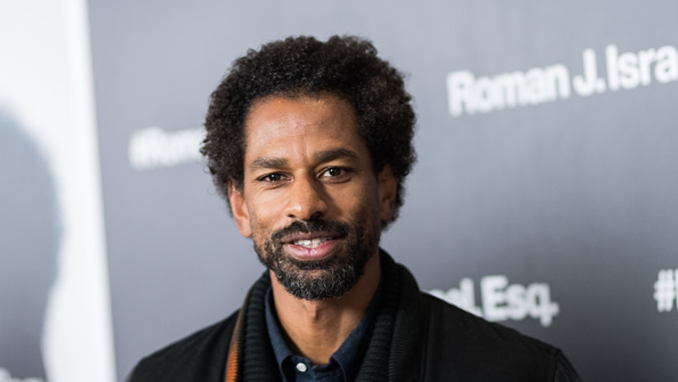 """NEW YORK, NY - NOVEMBER 20: Toure attends the """"Roman J Israel Esquire"""" New York Premiere at Henry R. Luce Auditorium at Brookfield Place on November 20, 2017 in New York City."""