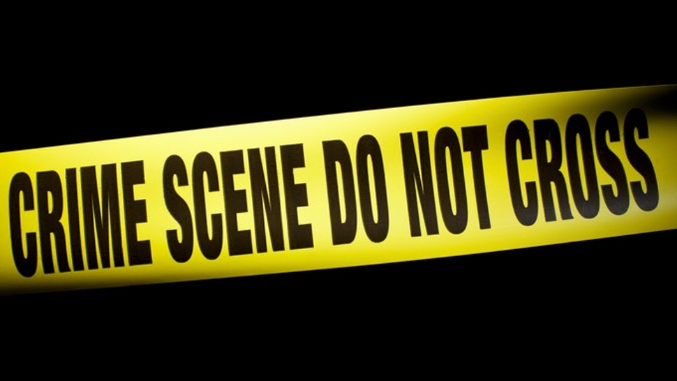 Crime Scene Do Not Cross cordon tape