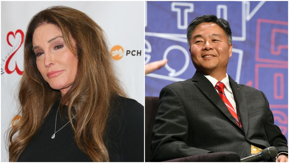 Caitlyn Jenner and Rep. Ted Lieu