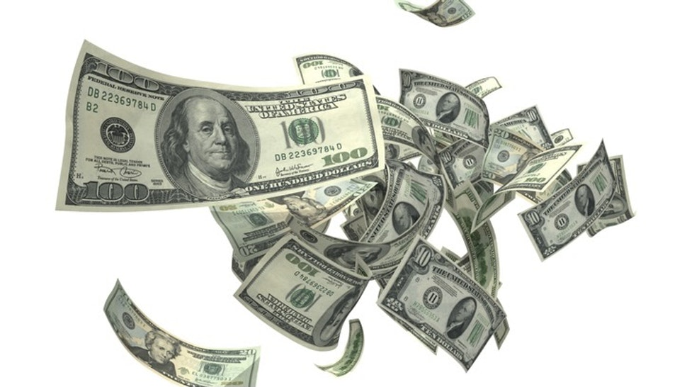Falling Money (XXXL) - stock photo US Currencies, $100s, $20s, and $10s in various shape and angles. Image requested by buyers. Kativ via Getty Images