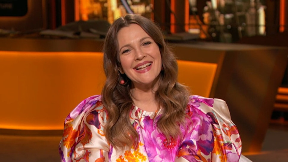 WATCH WHAT HAPPENS LIVE WITH ANDY COHEN @ HOME -- Episode 17150 -- Pictured in this screen grab: Drew Barrymore --