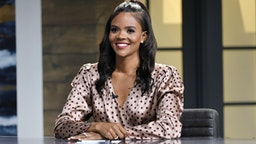"""Candace Owens is seen on the set of """"Candace"""" on May 17, 2021 in Nashville, Tennessee. The show will air on Tuesday, May 18, 2021. (Photo by Jason Kempin/Getty Images)"""