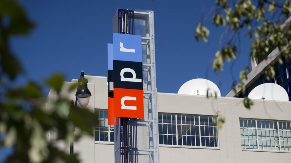 The headquarters for National Public Radio, or NPR, are seen in Washington, DC, September 17, 2013.