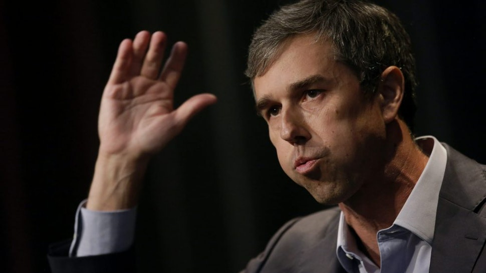 ALTOONA, IA - AUGUST 21: Democratic presidential candidate and former Rep. for Texas Beto O'Rourke speaks at the Iowa Federation Labor Convention on August 21, 2019 in Altoona, Iowa. Candidates had 10 minutes each to address union members during the convention. The 2020 Democratic presidential Iowa caucuses will take place on Monday, February 3, 2020.