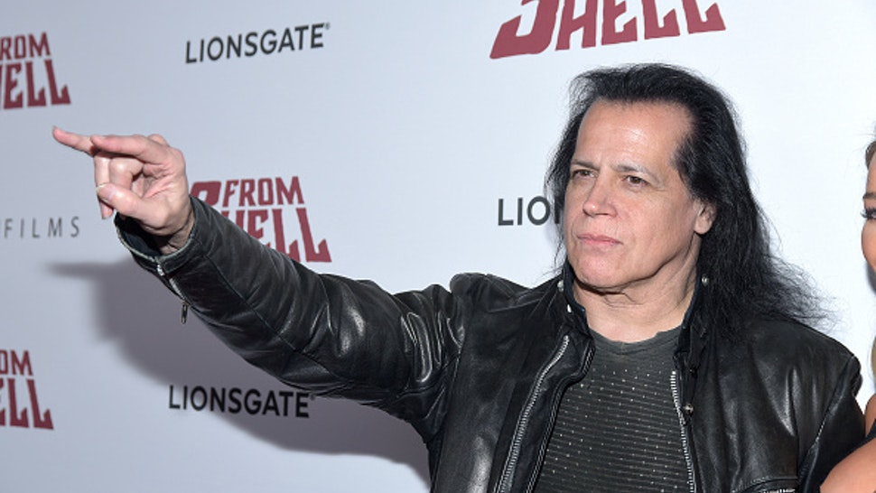 """LOS ANGELES, CALIFORNIA - SEPTEMBER 16: Musician Glenn Danzig of The Misfits attends a special screening of Lionsgate's """"3 From Hell"""" at the Vista Theatre on September 16, 2019 in Los Angeles, California."""