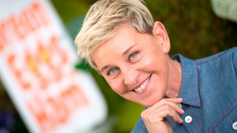 """Producer Ellen DeGeneres attends Netflix's season 1 premiere of """"Green Eggs and Ham"""" at Hollywood Post 43 on November 3, 2019 in Hollywood, California. (Photo by VALERIE MACON / AFP) (Photo by VALERIE MACON/AFP via Getty Images)"""