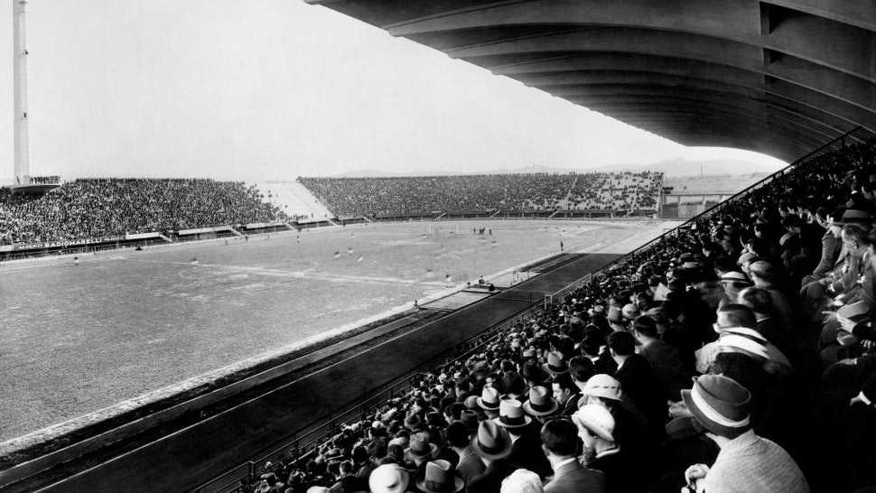 Giovanni berta stadium, florence 30s. (Photo by: Touring Club Italiano/Marka/Universal Images Group via Getty Images)
