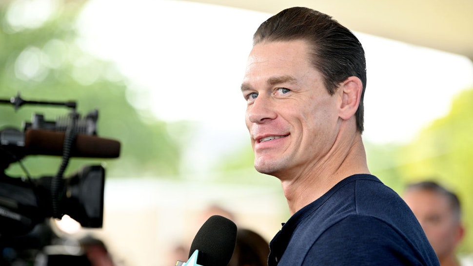 """MIAMI, FLORIDA - JANUARY 31: John Cena attends """"The Road to F9"""" Global Fan Extravaganza at Maurice A. Ferre Park on January 31, 2020 in Miami, Florida. (Photo by Dia Dipasupil/Getty Images)"""