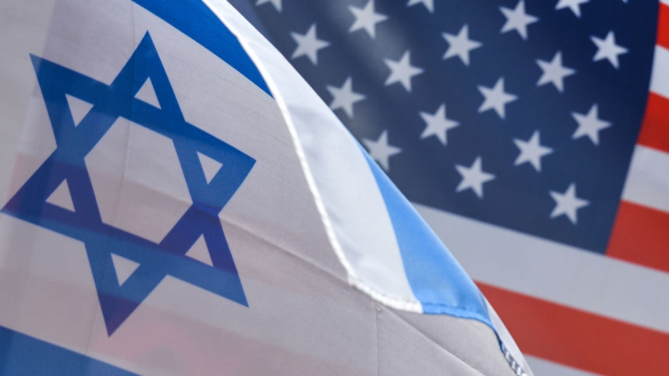 Israel U.S. Flag