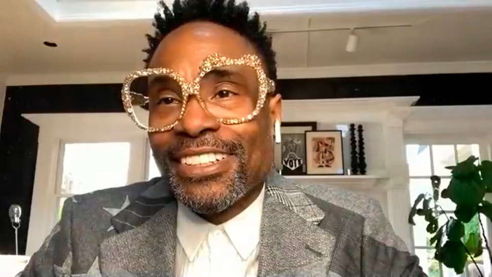 THE TONIGHT SHOW STARRING JIMMY FALLON -- Episode 1251E -- Pictured in this screengrab: Actor Billy Porter on April 28, 2020 -- (Photo by: NBC/NBCU Photo Bank via Getty Images)