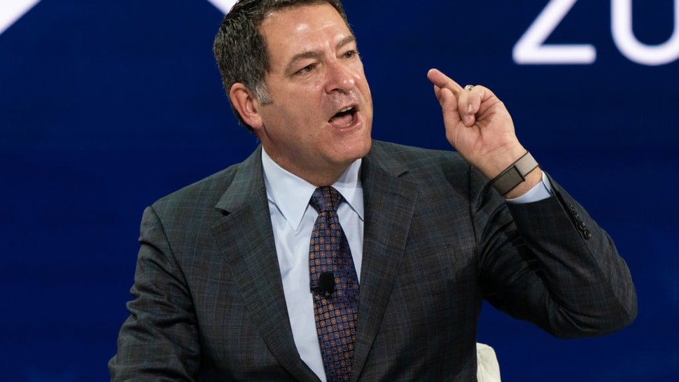 Representative Mark Green, a Republican from Tennessee, speaks during a panel at the Conservative Political Action Conference (CPAC) in Orlando, Florida, U.S., on Saturday, Feb. 27, 2021.