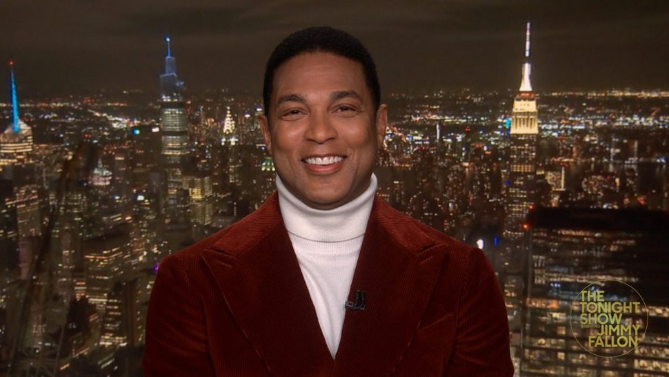 THE TONIGHT SHOW STARRING JIMMY FALLON -- Episode 1422A -- Pictured in this screengrab: Television journalist Don Lemon during an interview on March 11, 2021