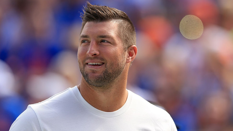 GAINESVILLE, FL - NOVEMBER 12: Tim Tebow during the game between the Florida Gators and the South Carolina Gamecocks at Ben Hill Griffin Stadium on November 12, 2016 in Gainesville, Florida. (Photo by Rob Foldy/Getty Images)