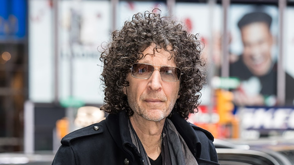 NEW YORK, NY - MAY 09: Radio and television personality Howard Stern is seen arriving to the ABC studio for GMA on May 09, 2019 in New York City.