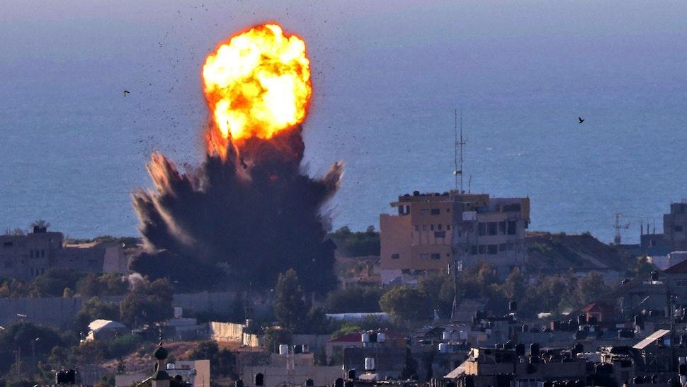 Israel bombing Gaza