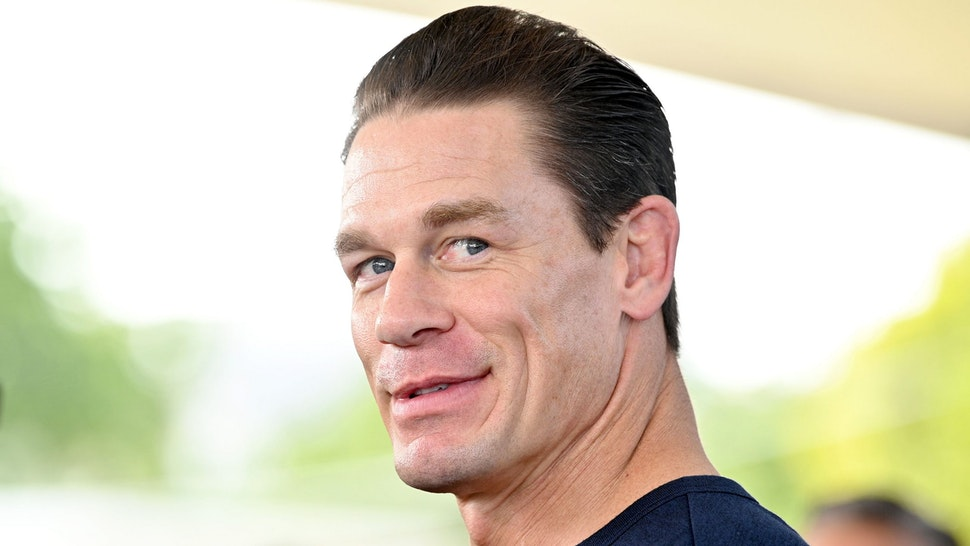 """MIAMI, FLORIDA - JANUARY 31: John Cena attends """"The Road to F9"""" Global Fan Extravaganza at Maurice A. Ferre Park on January 31, 2020 in Miami, Florida."""