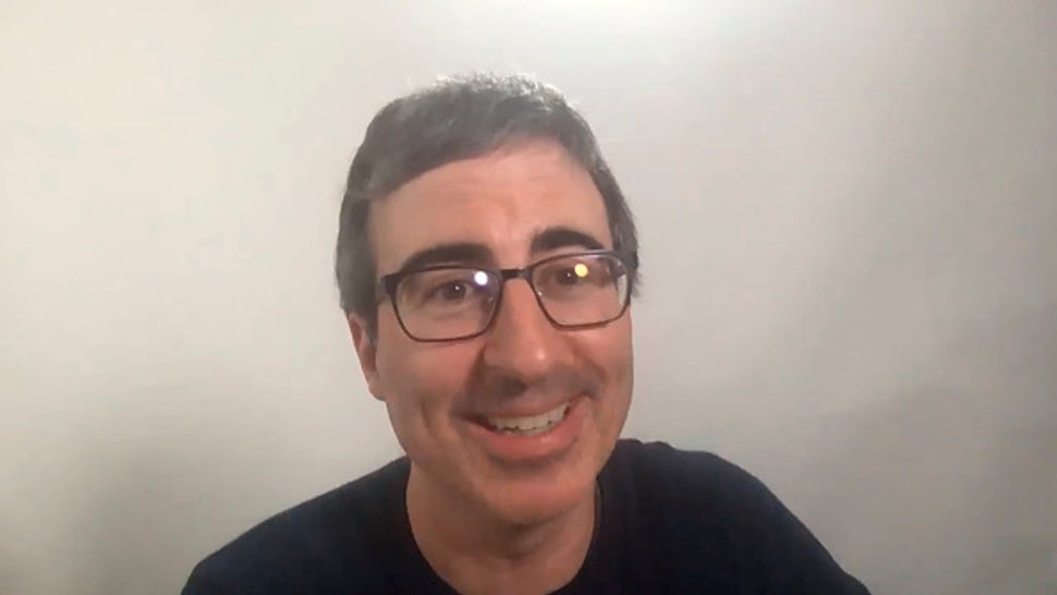 THE TONIGHT SHOW STARRING JIMMY FALLON -- Episode 1274E -- Pictured in this screengrab: Comedian John Oliver during an interview on June 8, 2020