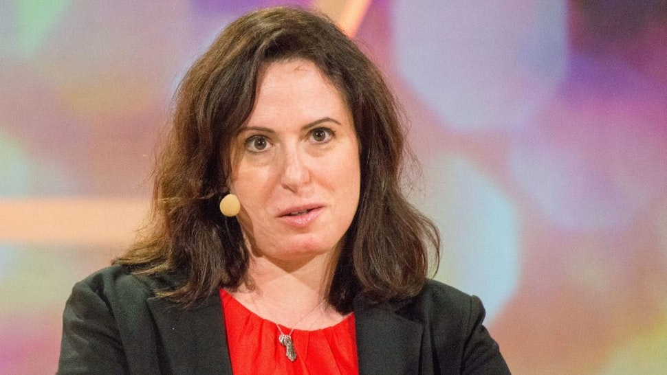 Journalist Maggie Haberman, White House correspondent for the New York Times, speaks at 'Nobel Week Dialogue: the Future of Truth' conference at at Svenska Massan on December 9, 2017, in Gothenburg, Sweden.