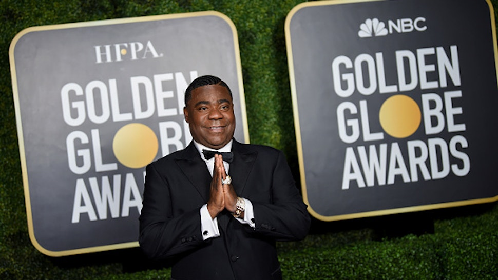 NEW YORK, NEW YORK - FEBRUARY 28: Tracy Morgan attends the 78th Annual Golden Globe® Awards at The Rainbow Room on February 28, 2021 in New York City.