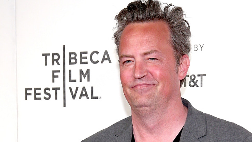 """NEW YORK, NY - APRIL 26: Actor Matthew Perry attends 2017 Tribeca Film Festival - """"The Circle"""" the at BMCC Tribeca PAC on April 26, 2017 in New York City."""