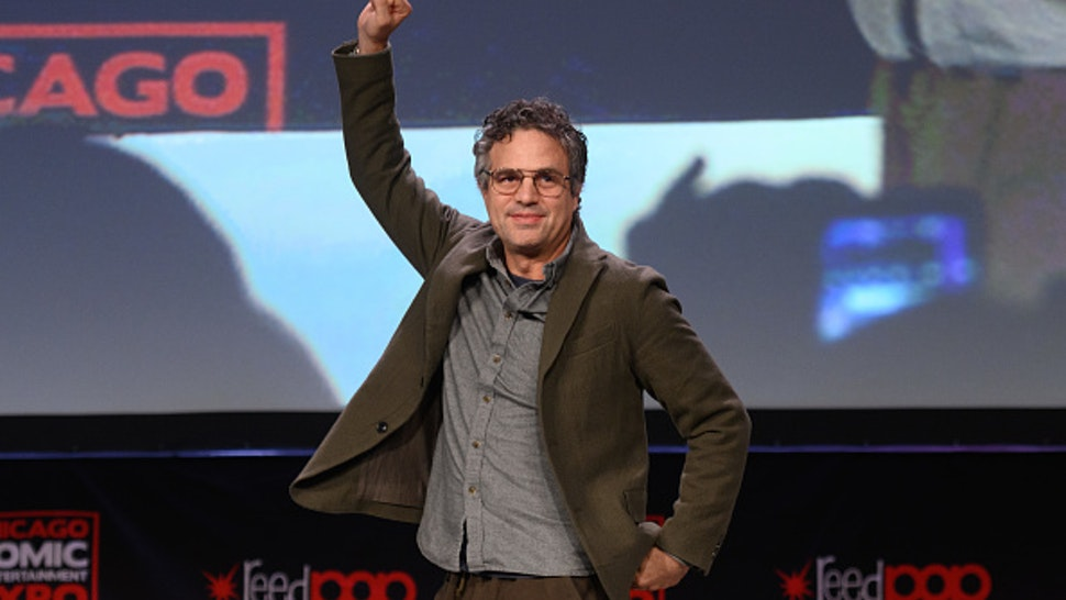 CHICAGO, ILLINOIS - MARCH 1: Mark Ruffalo attends C2E2 Chicago Comic & Entertainment Expo at McCormick Place on March 1, 2020 in Chicago, Illinois.