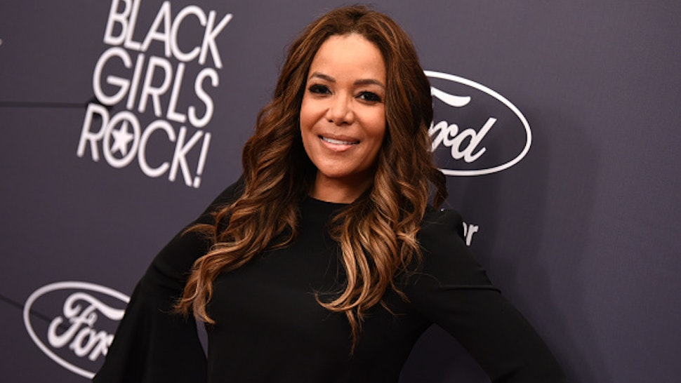 NEWARK, NJ - AUGUST 26: Sunny Hostin attends the Black Girls Rock! 2018 Red Carpet at NJPAC on August 26, 2018 in Newark, New Jersey.