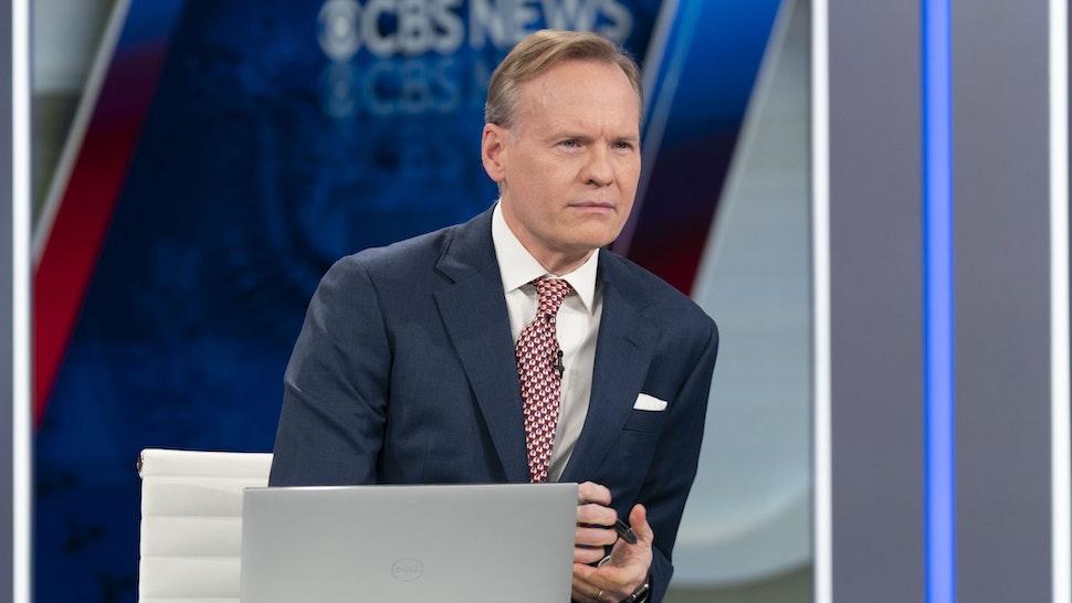 WASHINGTON - JANUARY 20: CBS News' John Dickerson broadcasts live from Washington DC on Inauguration Day 2021.