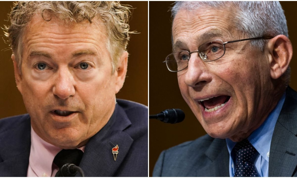 'It Looks Like A Cover-Up': Sen. Paul Blasts Media Figures Who 'Yuk It Up' With Fauci Instead Of Asking Hard Questions