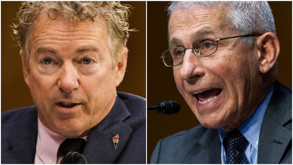 Sen. Rand Paul and Dr. Anthony Fauci